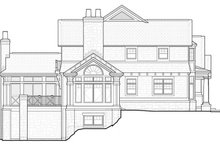 Architectural House Design - Craftsman Exterior - Other Elevation Plan #928-45