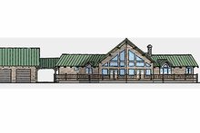 Contemporary Exterior - Front Elevation Plan #945-2