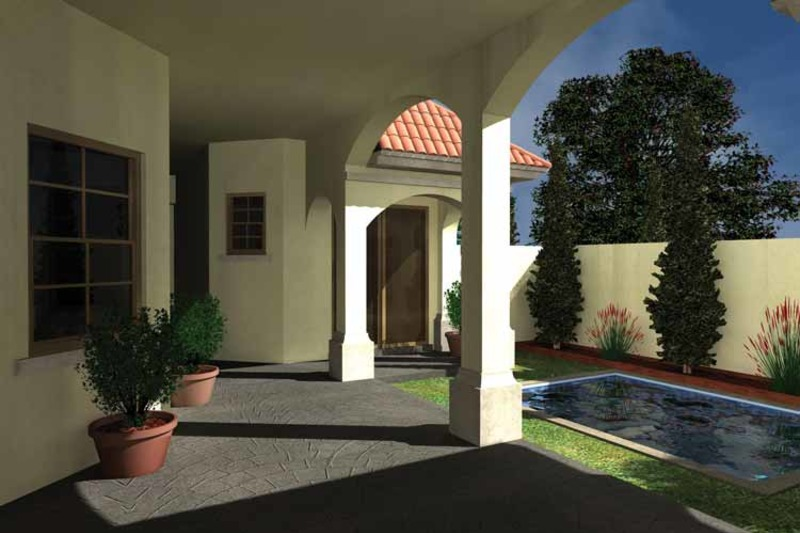 Mediterranean Exterior - Rear Elevation Plan #930-432 - Houseplans.com