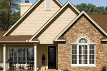 Architectural House Design - Country Exterior - Front Elevation Plan #929-701