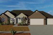 Traditional Exterior - Front Elevation Plan #1060-67