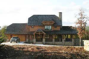 Architectural House Design - Craftsman Exterior - Front Elevation Plan #942-26