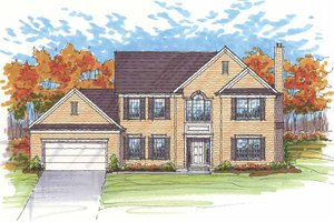 Home Plan - Traditional Exterior - Front Elevation Plan #435-20