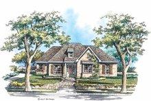 House Plan Design - European Exterior - Front Elevation Plan #952-277