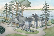 Craftsman Exterior - Front Elevation Plan #928-259