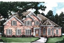 Colonial Exterior - Front Elevation Plan #927-587