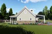 Farmhouse Style House Plan - 3 Beds 4 Baths 2593 Sq/Ft Plan #1069-2 Exterior - Other Elevation