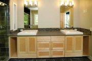 Prairie Style House Plan - 3 Beds 3 Baths 4322 Sq/Ft Plan #928-38 Interior - Master Bathroom