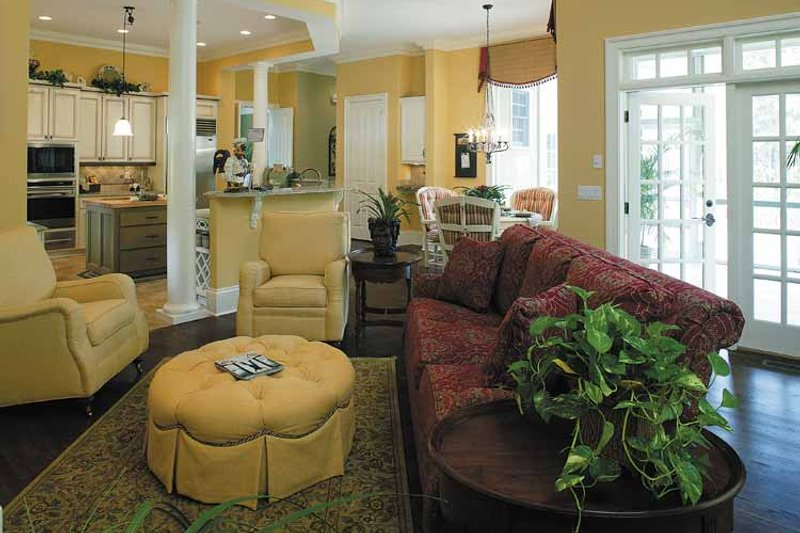 Colonial Interior - Kitchen Plan #930-220 - Houseplans.com
