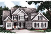 Country Style House Plan - 4 Beds 3 Baths 2034 Sq/Ft Plan #927-258 Exterior - Front Elevation