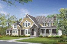 Dream House Plan - Craftsman Exterior - Front Elevation Plan #132-509