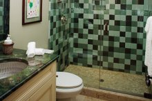 Mediterranean Interior - Bathroom Plan #929-900