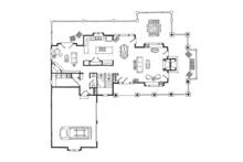 Cabin Floor Plan - Main Floor Plan Plan #942-36