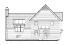 Contemporary Exterior - Rear Elevation Plan #928-274