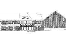 Ranch Exterior - Rear Elevation Plan #117-563