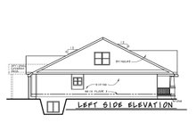 House Plan Design - Craftsman Exterior - Other Elevation Plan #20-2455