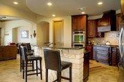 European Style House Plan - 4 Beds 4 Baths 4050 Sq/Ft Plan #80-160 Interior - Kitchen