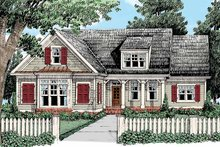 House Design - Country Exterior - Front Elevation Plan #927-428
