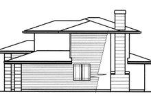 Prairie Exterior - Other Elevation Plan #509-78