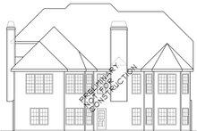 House Plan Design - European Exterior - Rear Elevation Plan #927-931