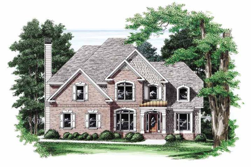 Traditional Exterior - Front Elevation Plan #927-556
