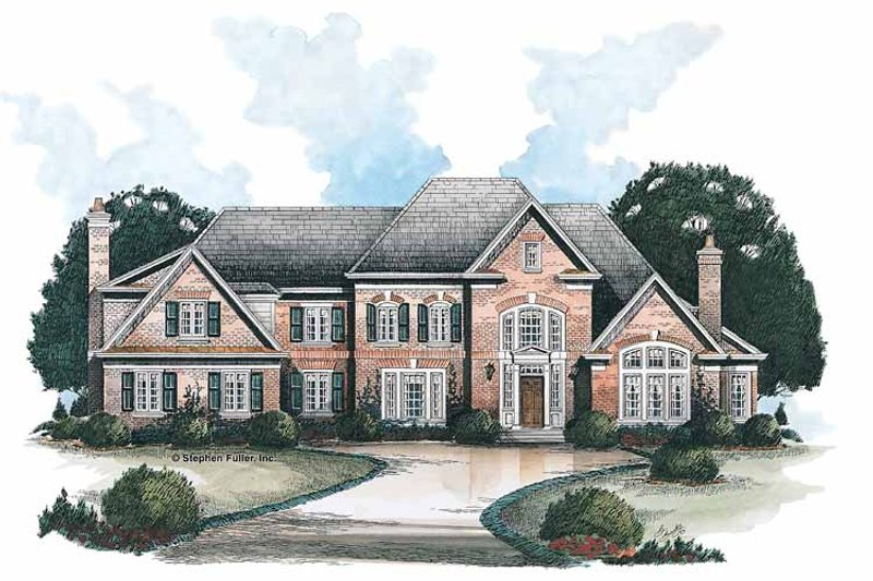 Traditional Exterior - Front Elevation Plan #429-135
