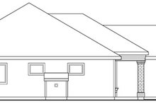 Dream House Plan - Exterior - Other Elevation Plan #124-334
