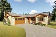 Adobe / Southwestern Style House Plan - 3 Beds 2 Baths 1619 Sq/Ft Plan #126-172