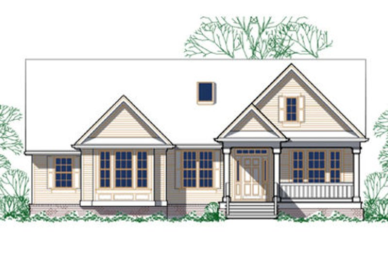 Craftsman Exterior - Other Elevation Plan #48-291 - Houseplans.com