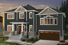 Home Plan - Traditional Exterior - Front Elevation Plan #23-2626