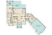 Craftsman Floor Plan - Main Floor Plan Plan #17-3423