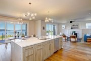 Contemporary Style House Plan - 4 Beds 3.5 Baths 3722 Sq/Ft Plan #569-40 Interior - Kitchen