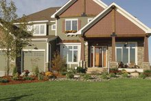 Craftsman Exterior - Front Elevation Plan #320-992