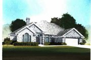 Traditional Style House Plan - 4 Beds 2.5 Baths 2450 Sq/Ft Plan #65-253 Exterior - Front Elevation
