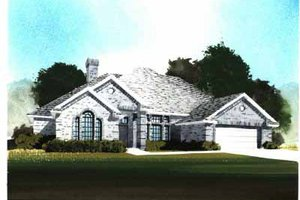 Traditional Exterior - Front Elevation Plan #65-253