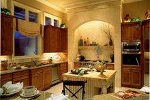 Mediterranean Interior - Kitchen Plan #930-104