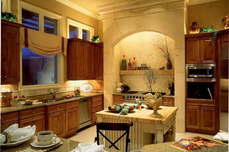 Mediterranean Interior - Kitchen Plan #930-104 - Houseplans.com