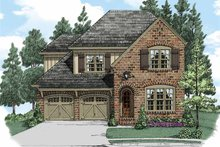Home Plan - European Exterior - Front Elevation Plan #927-506