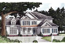 House Plan Design - Country Exterior - Front Elevation Plan #927-690