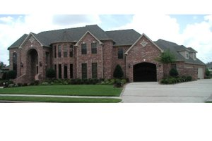 Home Plan - European Exterior - Front Elevation Plan #968-43