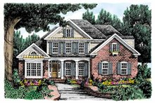 Home Plan - Country Exterior - Front Elevation Plan #927-685