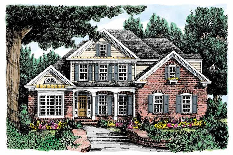 Country Exterior - Front Elevation Plan #927-685 - Houseplans.com
