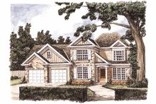 House Design - Traditional Exterior - Front Elevation Plan #927-717