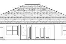 Home Plan - Adobe / Southwestern Exterior - Rear Elevation Plan #1058-134
