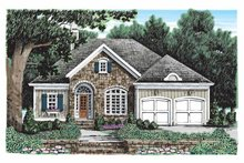 House Plan Design - Country Exterior - Front Elevation Plan #927-904