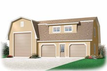 House Plan Design - Country Exterior - Front Elevation Plan #23-2426