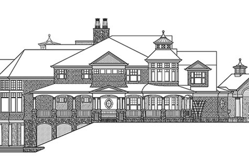 Craftsman Exterior - Other Elevation Plan #132-565 - Houseplans.com