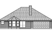 Traditional Exterior - Rear Elevation Plan #84-348