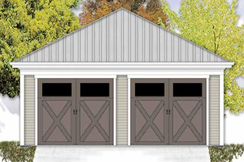 Exterior - Front Elevation Plan #306-131 - Houseplans.com