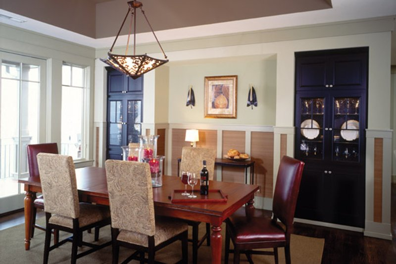 European Interior - Dining Room Plan #929-899 - Houseplans.com